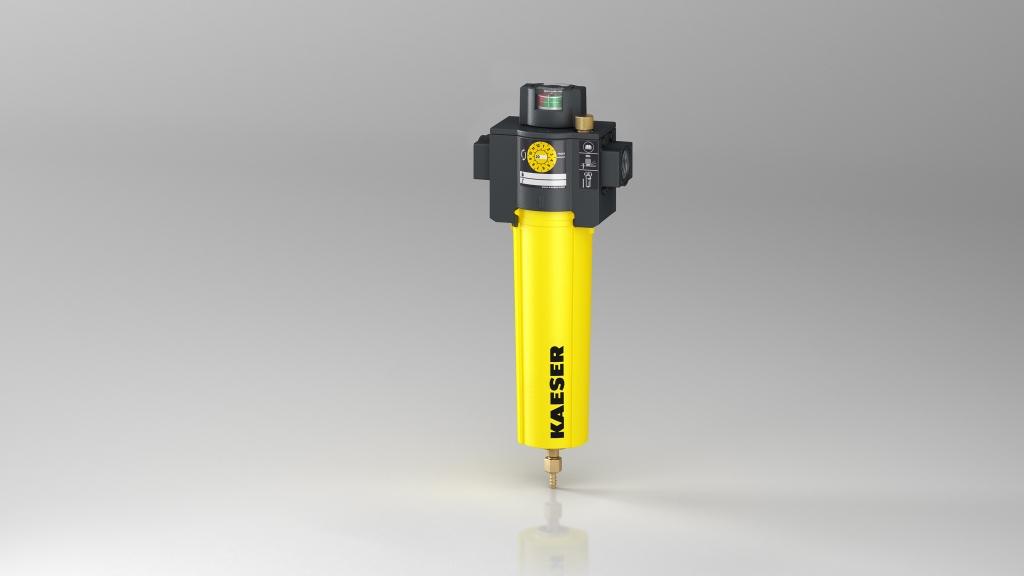 3D-Produktfoto/Rendering des Kaeser Filters