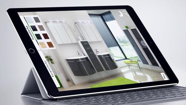 Interaktiver 3D-Möbel-Konfigurator