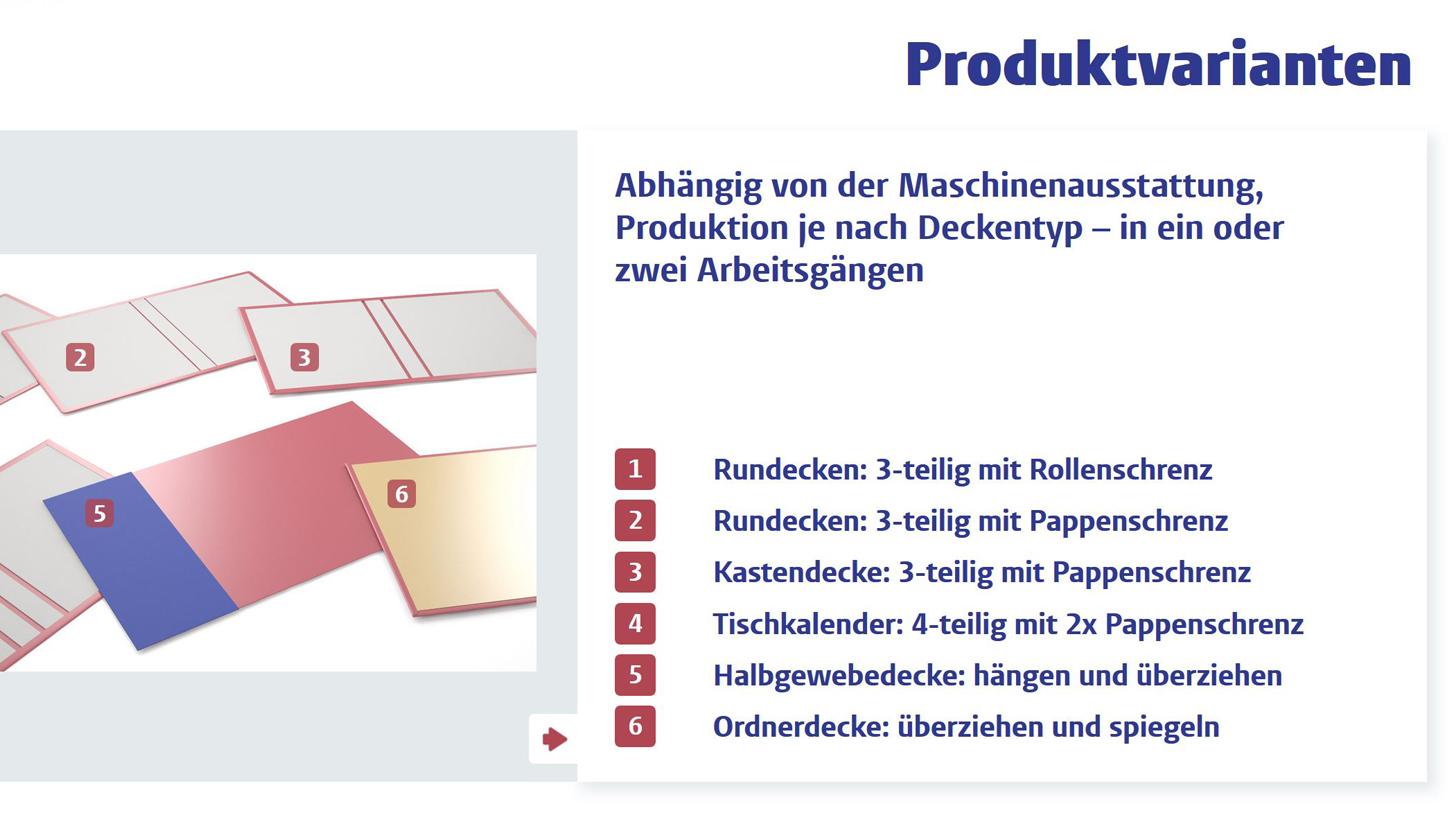 Webapp zur Produktpräsentation Kolbus Produkseite
