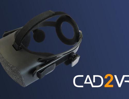 CAD2VR® – Unterstützung für Windows Mixed Reality (WMR) Brillen