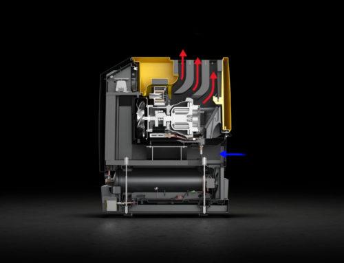Neue 3D-Animation i.Comp 8und 9für KAESER Kompressoren