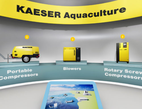Digitaler Messestand KAESER Aquakultur