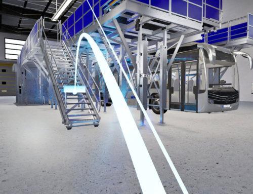 VR-Präsentation und 3D-Content-Animation für GünzburgerSteigtechnik
