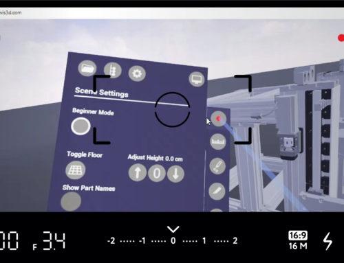 CAD2VR® Update 1.5 – Einfach Videoaufnahmenerstellen