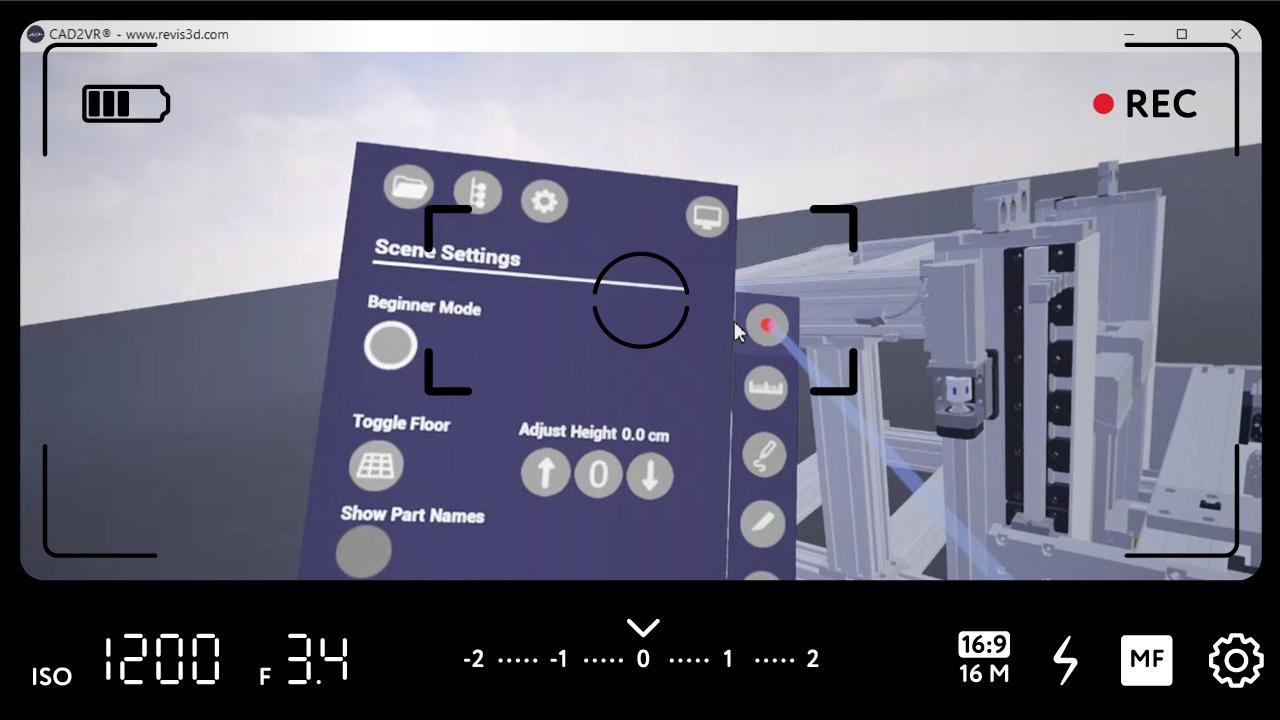 Mit dem neuen Update erhält CAD2VR® einen Einsteigermodus und einen Performance Boost.